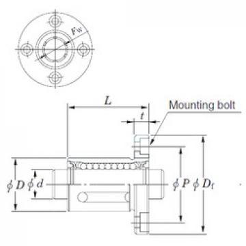 KOYO SDMF20MG linear bearings